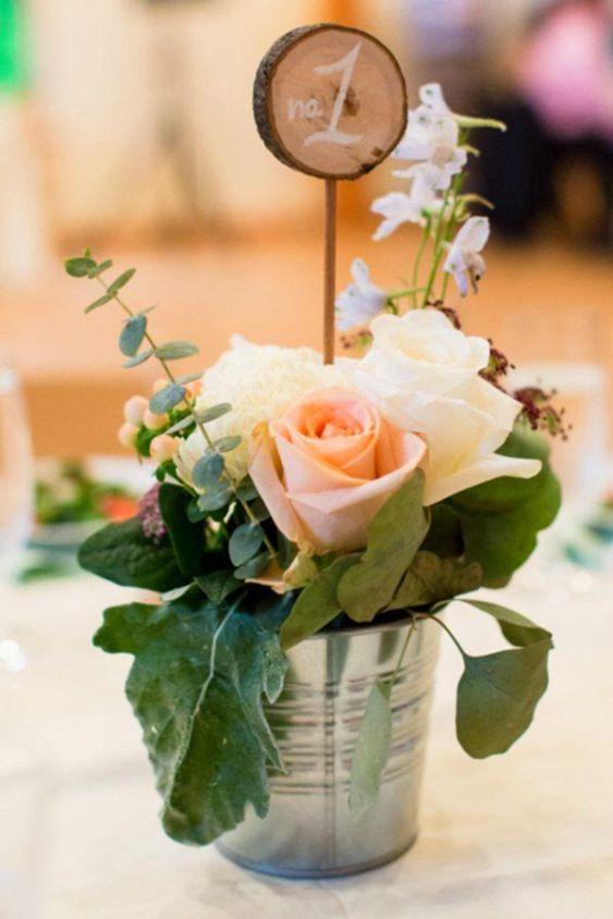 27 centros de mesa para bodas, consigue una boda de cuento Wedding