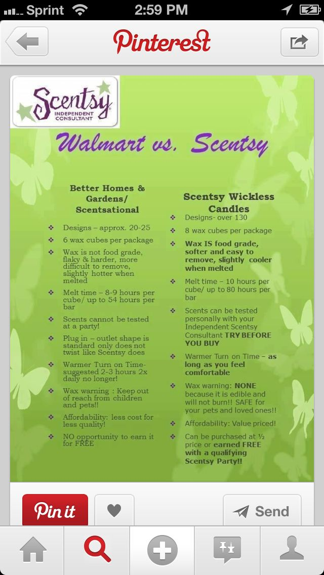 Better Homes And Gardens Wax Warmer Vs Scentsy
