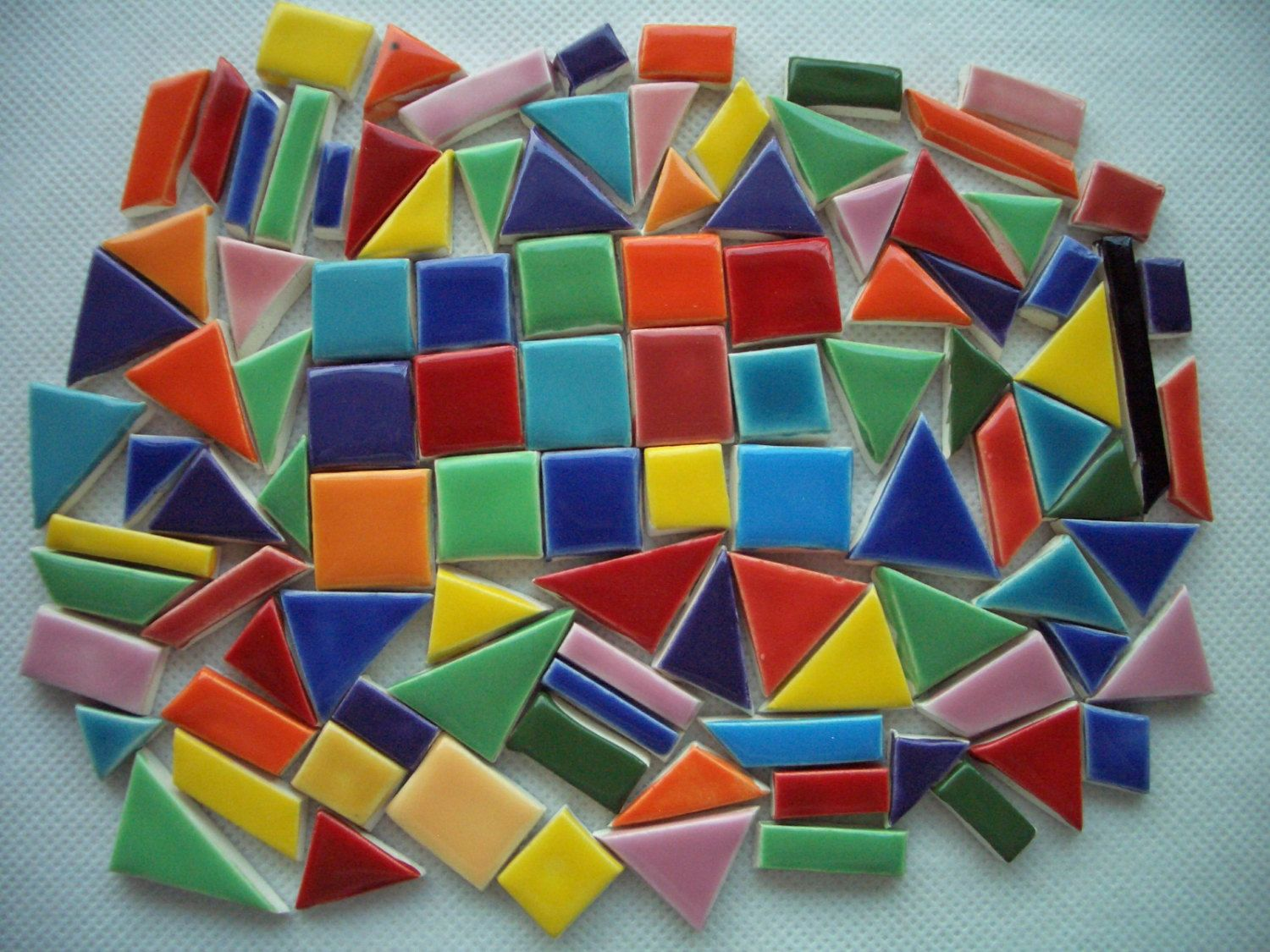 Ch101 chicklets 101 pcs fun colorful tiny tiles ceramic ch101 chicklets 101 pcs fun colorful tiny tiles ceramic mosaic tiles dailygadgetfo Images