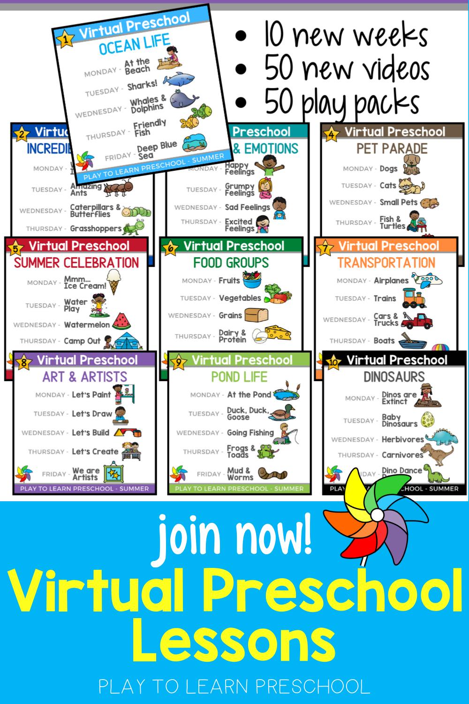 Join Virtual Preschool Fall 2020 Semester In 2020 Preschool At Home Summer Learning Programs Summer Preschool