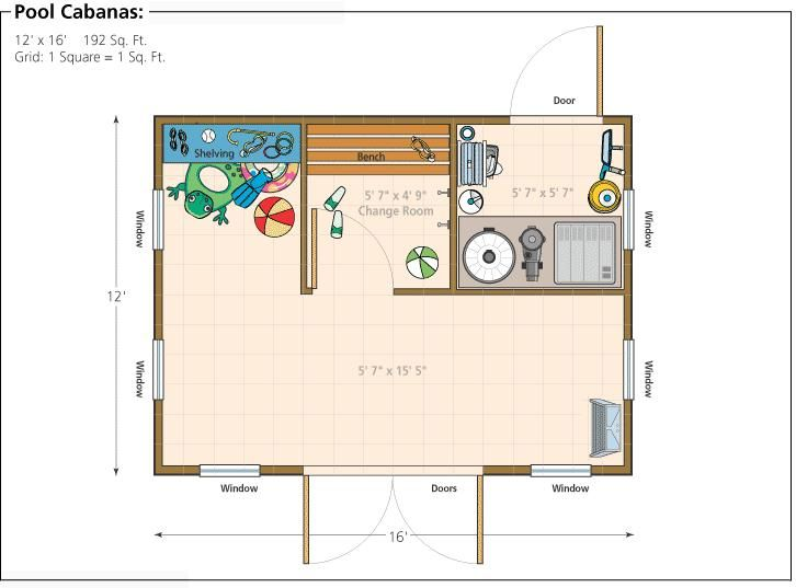 Shed Pool House Plans Pdf Black And Deckeryourplans Amazing
