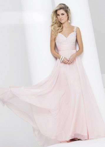 Light Pink Sherri Hill Prom Dresses