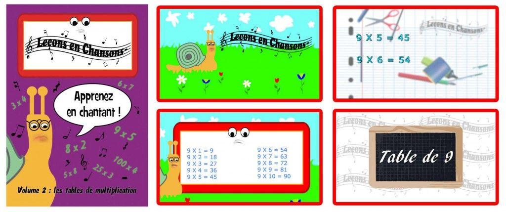 Sortie du volume 2 des le ons en chansons sur les tables de multiplication plus d 39 infos sur - Chanson table de multiplication ...
