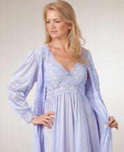 6c5928b05 Shadowline Silhouette Long Gown Robe Peignoir Set - Peri Frost ...