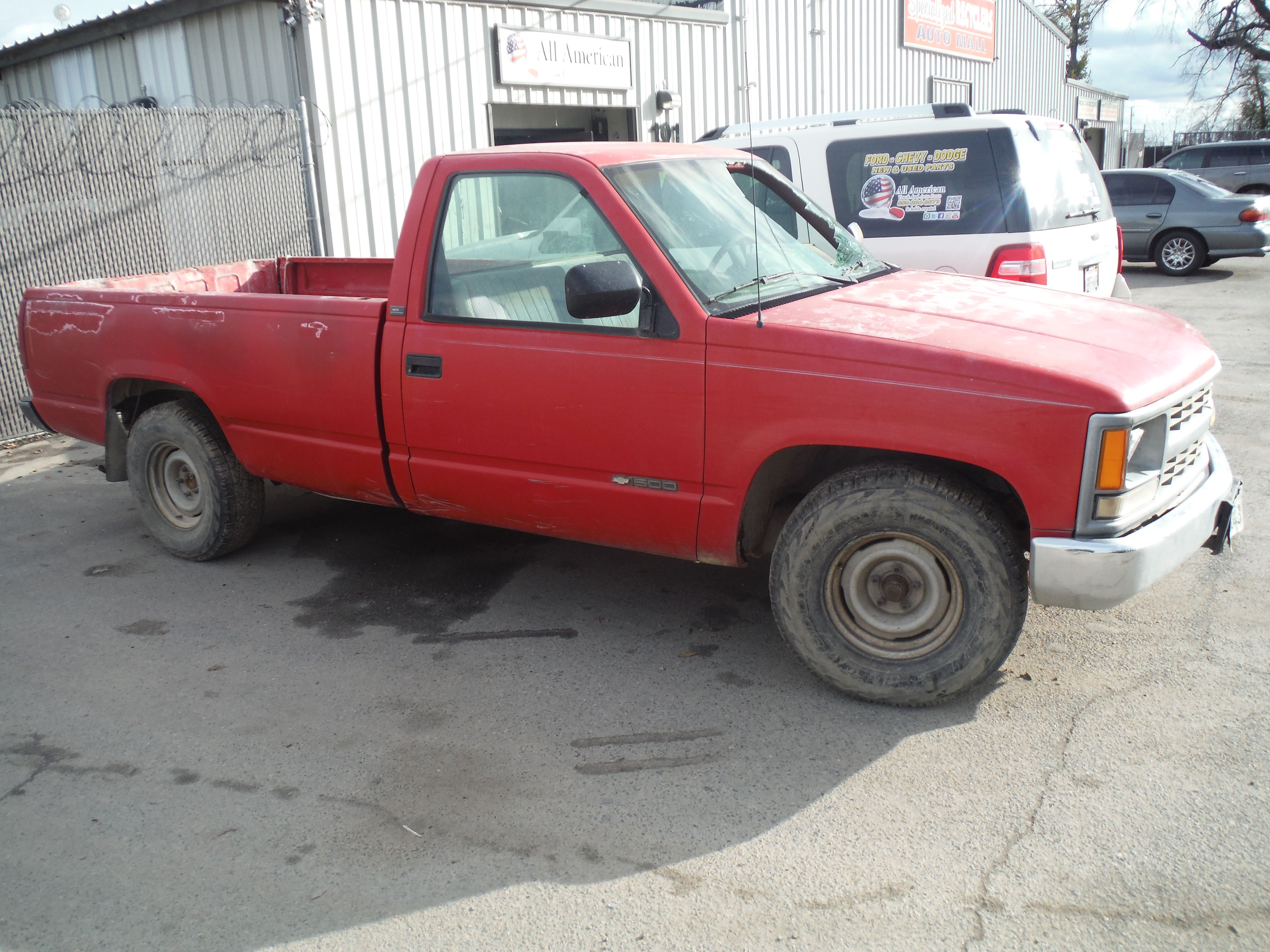 1994 Chevy C K 1500 Regular Cab W T 8ft Bed 2wd 5 0l With 268k