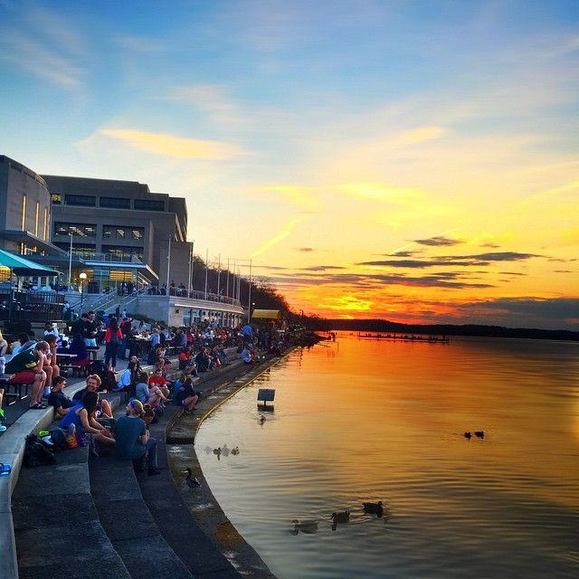 Instagram post by minimad minimad wisconsin and sunset for The terrace madison wi