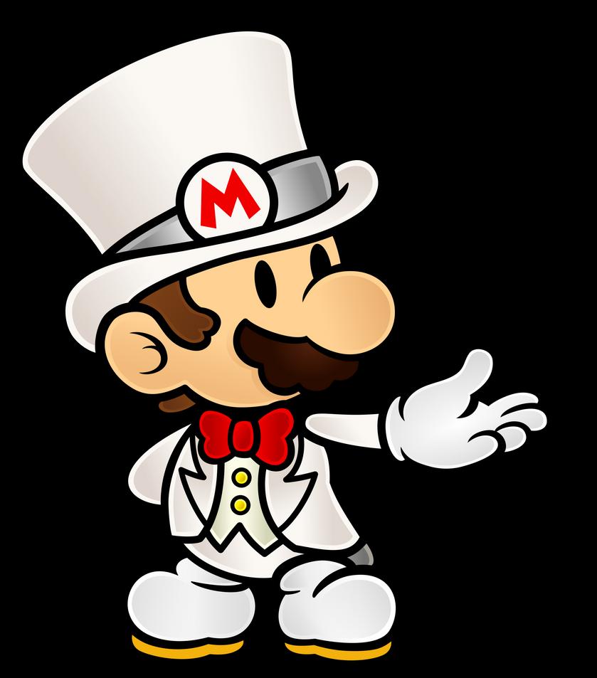 Paper Mario Wedding Tux By Https Www Deviantart Com Fawfulthegreat64 On Deviantart Mario Art Mario Mario Fan Art