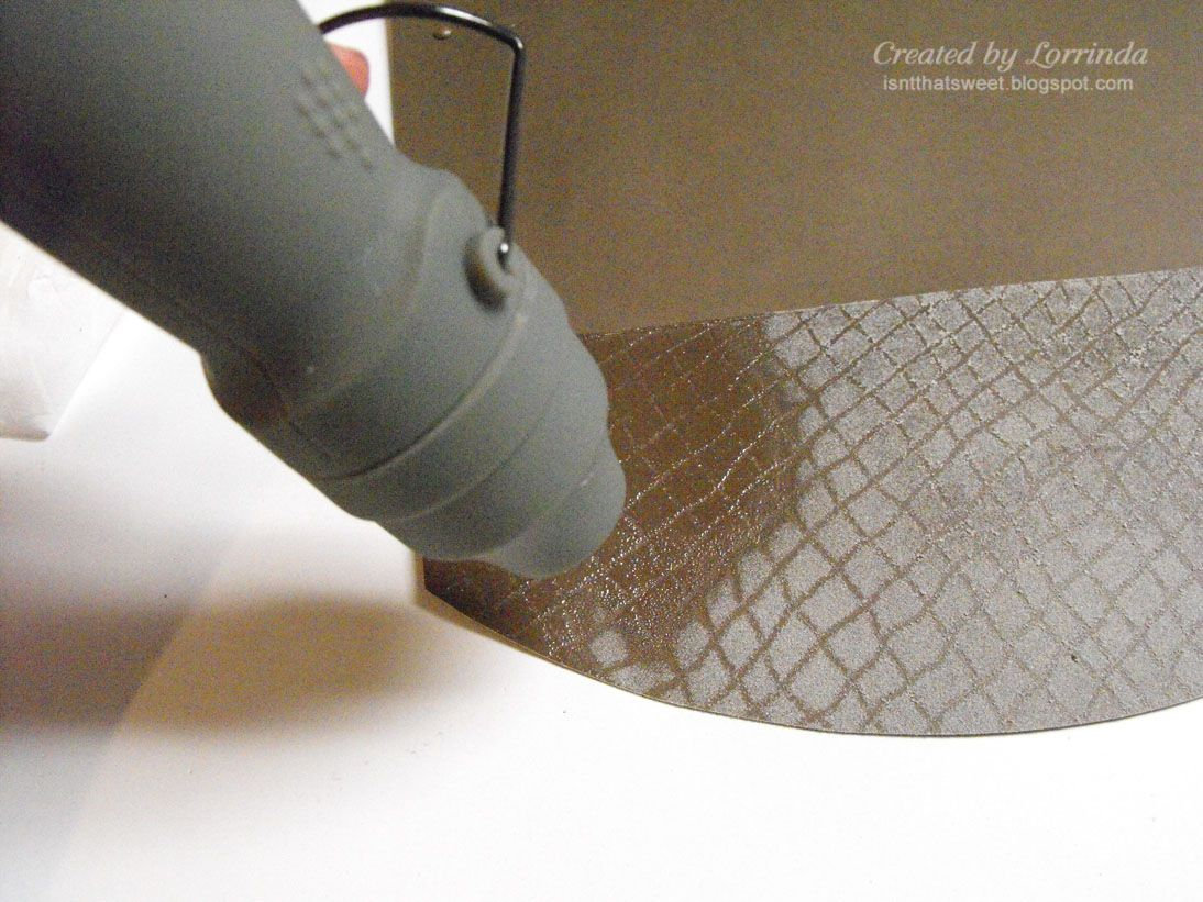 How to make faux leather look finish on cardboard.