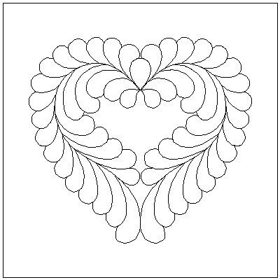 five pages of free quilting motifs! :) | quilts and quilting ... : free quilt stencils - Adamdwight.com