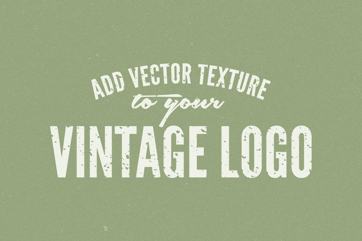 Take A Vector Image From Glum To Glam By Learning How To Add A Texture In Illustrator Adding A Texture To A Flat Image In Photo In 2020 Vintage Texture Vector Texture