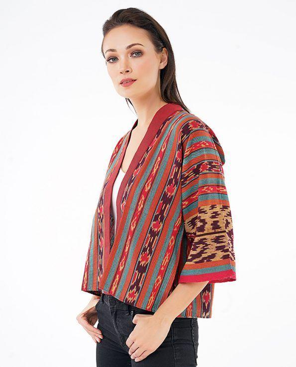 Image result for red and green batik Ikat Pinterest Ikat