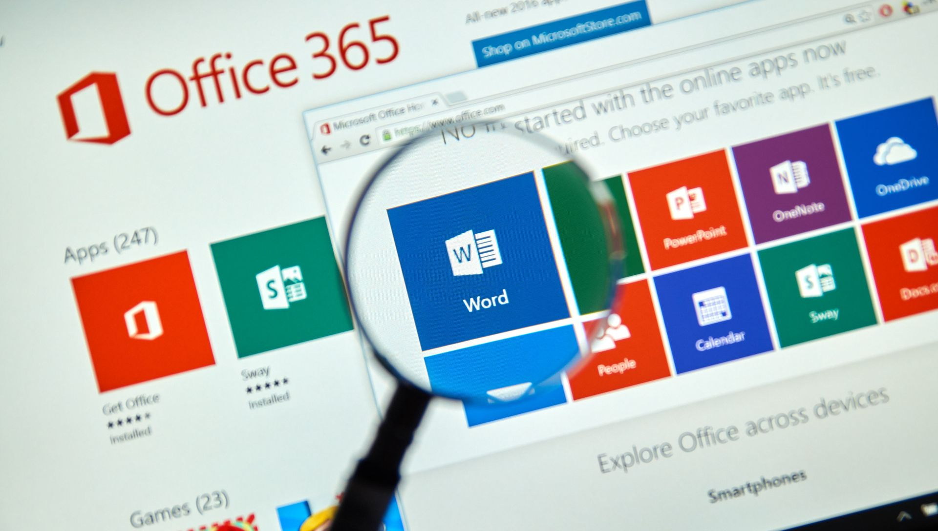 Office 365 Your Home Office Colleague Words, Office 365