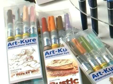 Art Kure Watercolour System Introduction Watercolor Art Brush Pen