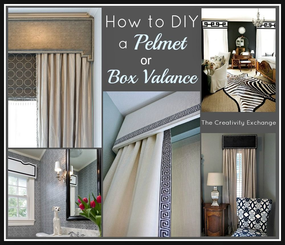 The 25 best box valance ideas on pinterest window How to make a valance without sewing