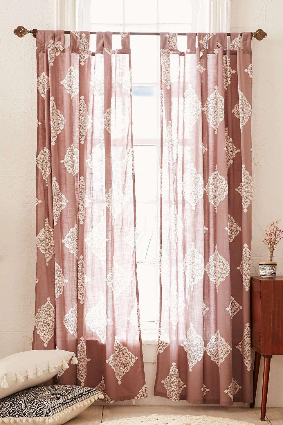 Plum u bow semana window curtain bedroom pinterest window