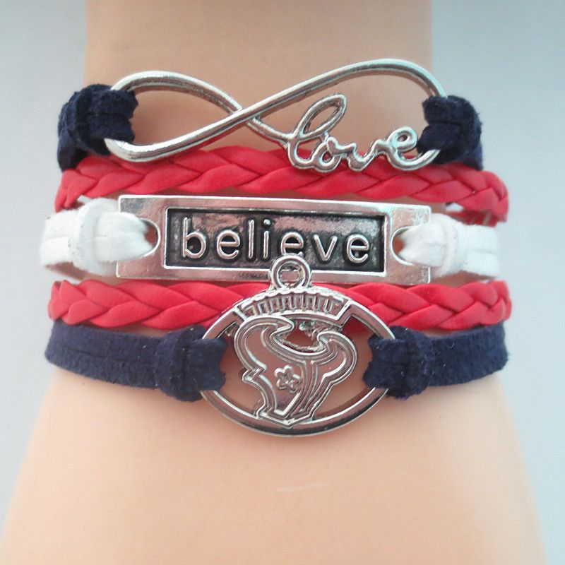 Infinity Love Houston Texans Football - Show off your teams colors ...