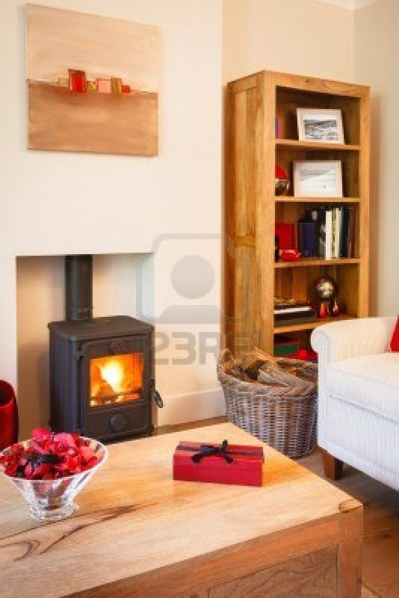 Decorating wood stove living room google search wood burning stove living room decoration for Living room with wood burning stove