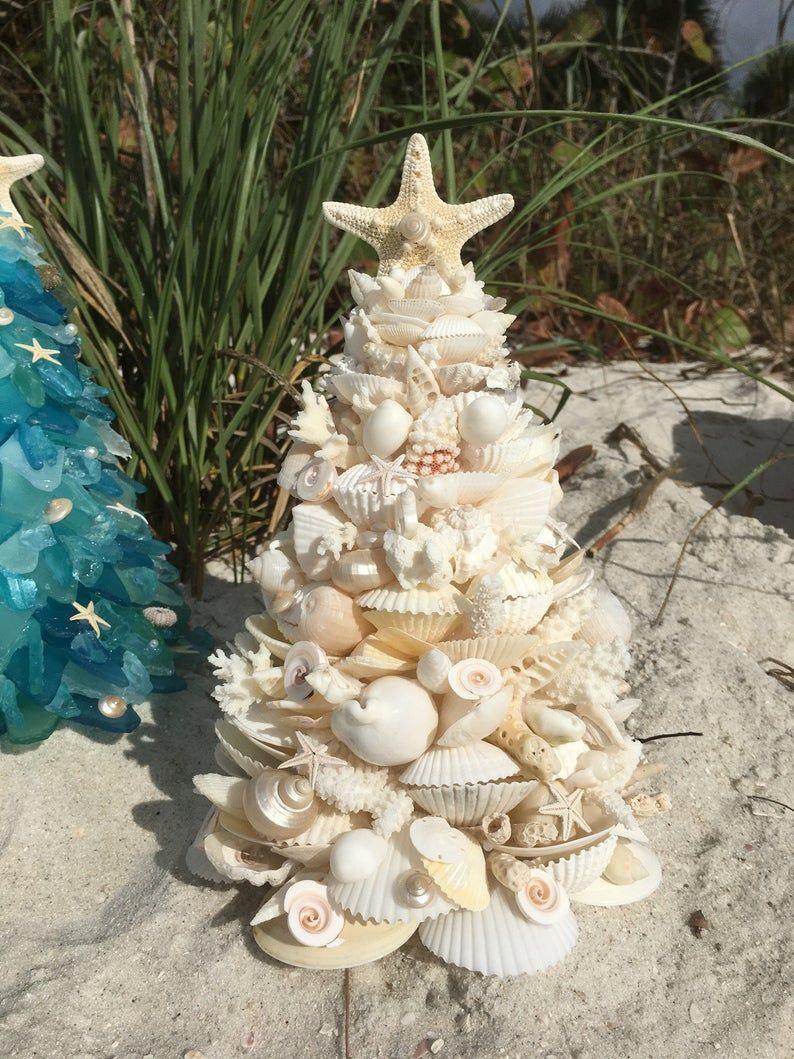 Handmade Beautifully Designed Large 12 13 White Seashell And