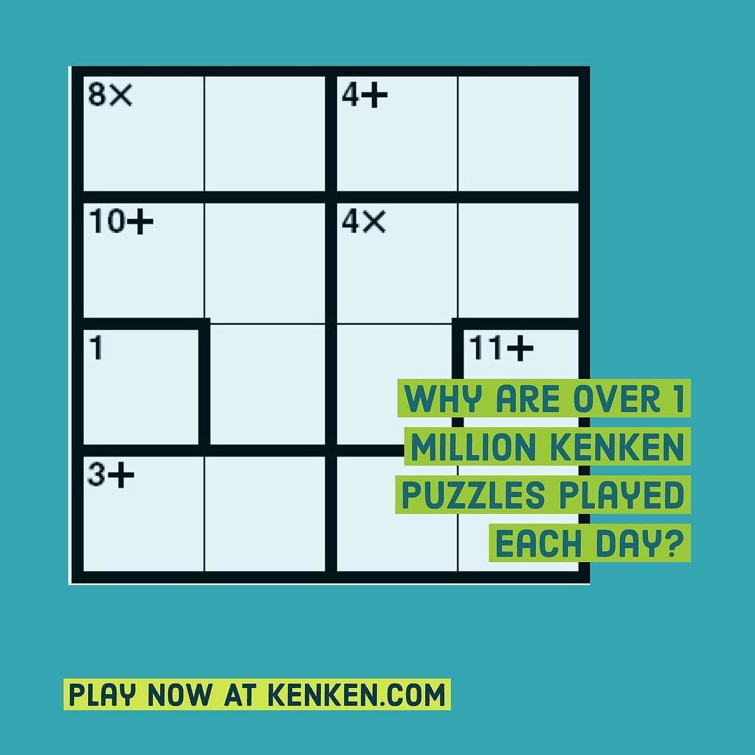 Find Out For Yourself Start Your Day With Kenken At