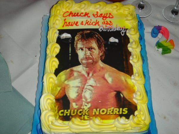 Excellent We Make Movies Funny Chuck Norris Birthday Crazy Birthday Cakes Personalised Birthday Cards Sponlily Jamesorg