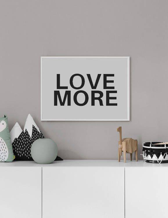 Love More, Love Print, Love Art, Love Wall Art, Word Art, Word Print, Inspirational Print, Motivational Print, Typograph, Quote Prints #homedecorideas #homedecoronabudget #homedecordiy #homedecorideasmodern #homeoffice #homedecor #homeideas #wallart #walldecor #wallartdiy #art #print #digital #typographyprint #typographyposter #quoteprints #quoteprintables #loveart #loveprint