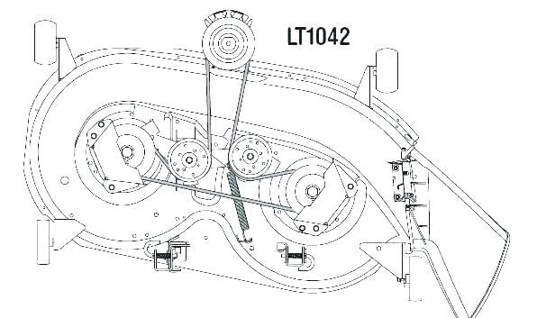 [DIAGRAM] Cub Cadet 54 Inch Deck Belt Diagram