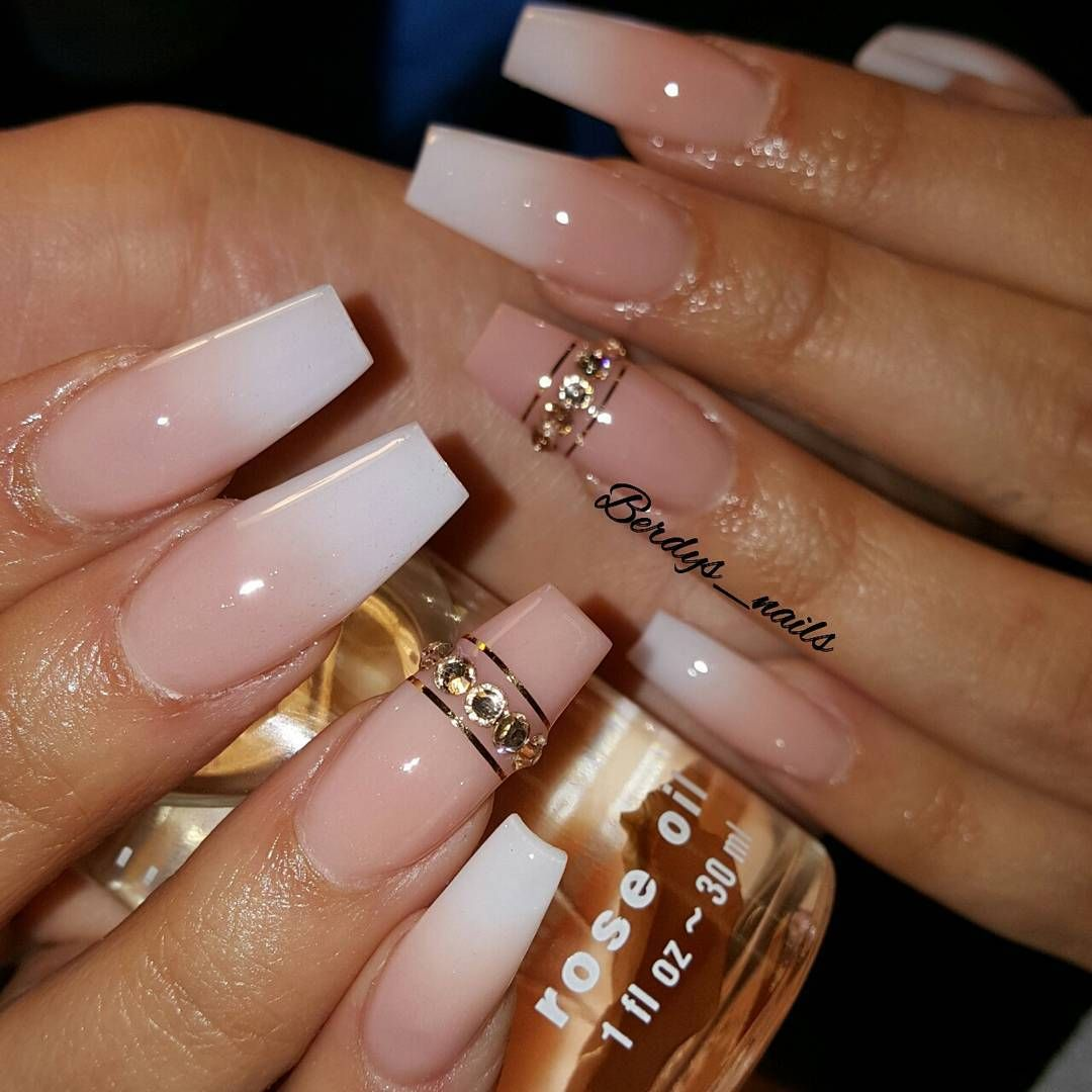 And another one. #frenchombre #ombrenails #Nails2Inspire ...