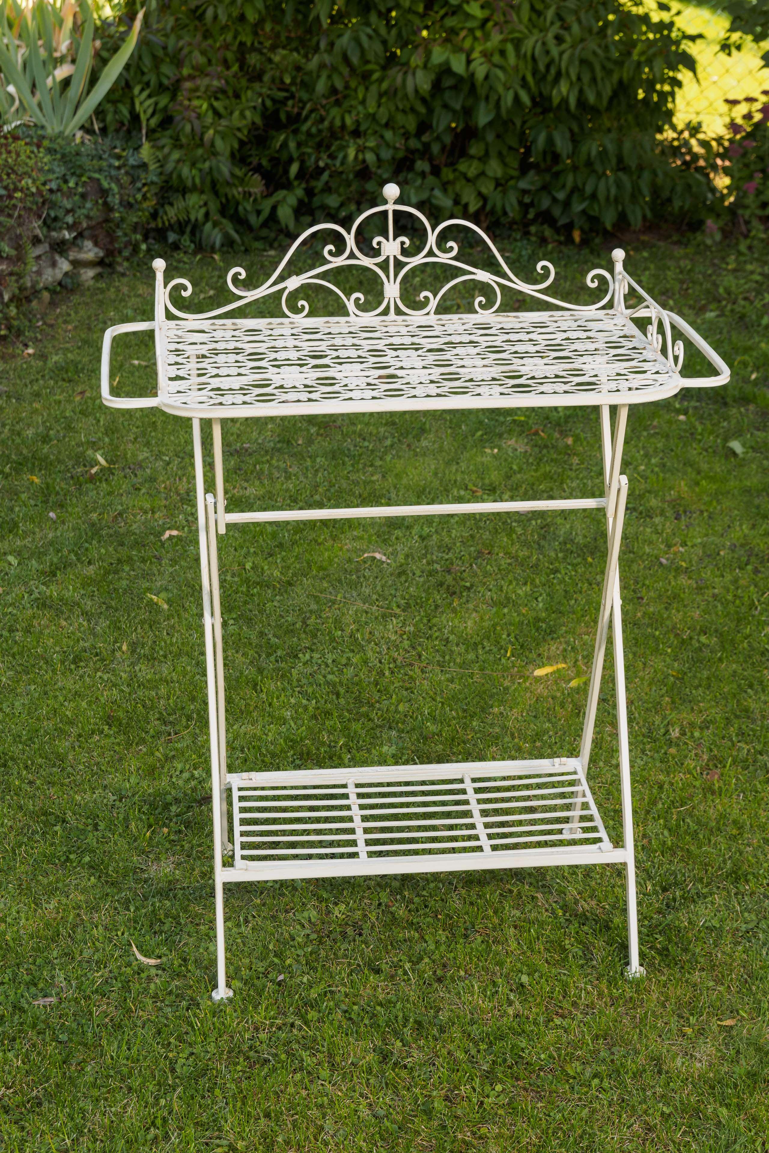 Butlers Tray Serviertisch Gartentisch Eisen Garten Klapptisch Beistelltisch Beistelltisch Serviertisch Tisch