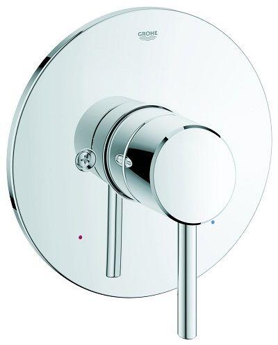 Grohe 19457001 Concetto Pressure Balance Valve Trim Shower - grohe concetto küchenarmatur