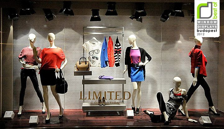 Fashion retail window displays