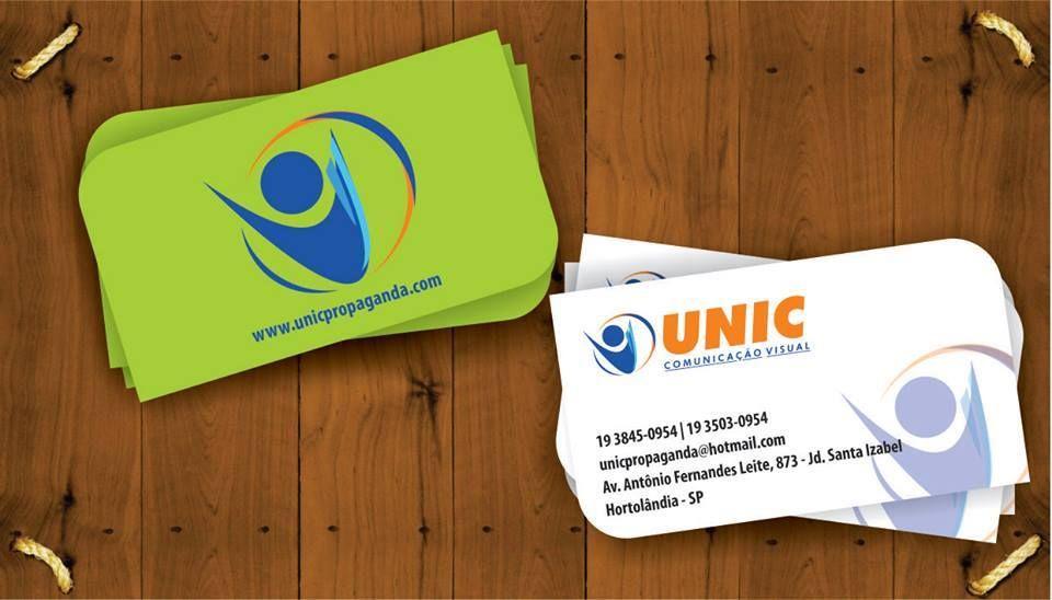 Cartão de Visita UNIC Propaganda