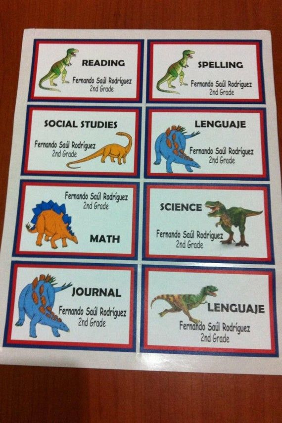 20 Dinosaur waterproof personalized labels  Notebook, Book labels, presentation labels, Party labels is part of Personalized labels, Party labels, Book labels, Labels, Personalised, Presentation - Quantity 20 labels Label size is about the size of a credit card Our  labels can be used to label books, notebooks, or used to label your gifts  They are personalized with your name and other things you might want to add   Just peel and stick  Perfect use for books, notebooks, note pads, etc  Ideal to label your kids books, notebooks or belongings!All you need to do is peel & stick  It will save you time and money  With this cute labels you wont loose your books and you can personalize your things Font Send us the name of the font you would like us to use or see the attached picture REMEMBER to add In the  message notes  of your PayPal payment   Which design sticker you want and the name you want us to print on the name label  E g Andrea Basket F1Please double check your spelling  All orders will be printed as requested  WE ACCEPT RETURNS IFOnce you receive the label you have 7 days to notify us if we have made an error  We advise that you notify us right away for any error we have made   We will be more than happy to reprint and reship another set free of charge if it was our mistake  PaymentWe accept Shipping Orders will be processed and shipped 2 to 3 business days  after we receive your paypal payment  We offer  WORLD WIDE SHIPPINGThanks for visiting! Blessings!IMPORTANT NOTICE Characters in these images are free of charge  You are paying for my workmanship, time and supplies in creating, customizing, and assembling these handmade pieces for your own personal use  This item is not a licensed product and all character images used are not being sold  Images remain property of their respective copyright holders and may not be resold  Items purchased are for personal use only and are not to be resold for any reason