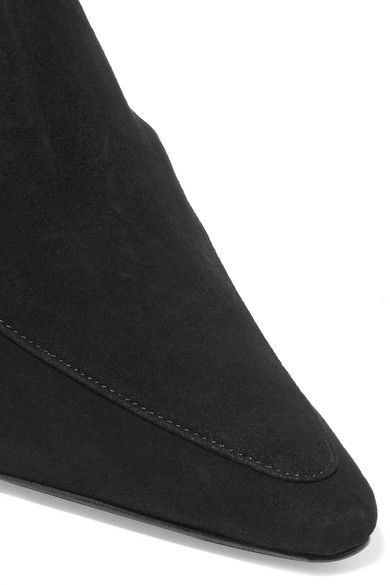 3d73db74 DORATEYMUR - Suede Mules - Black | Products | All black sneakers ...