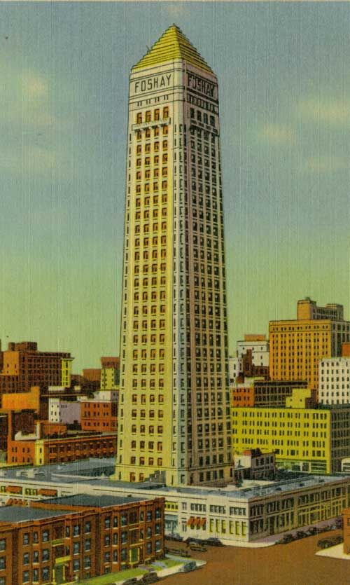Who Doesn T Love The Foshay Vintage Images Random Ephemera