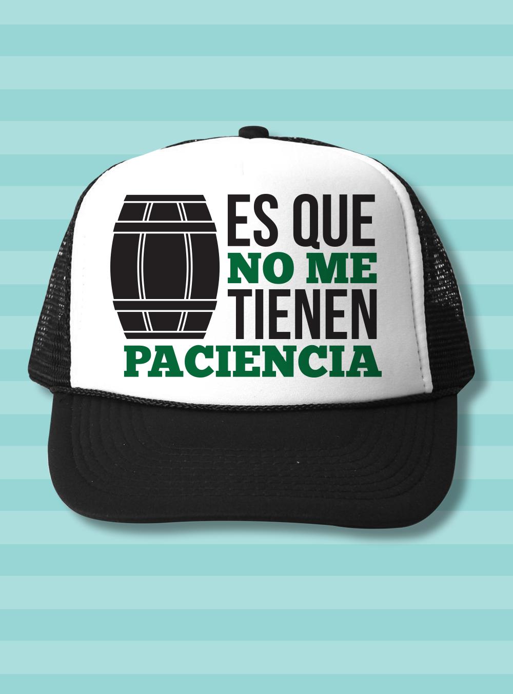 Gorra para adulto con frase típica de El Chavo del Ocho