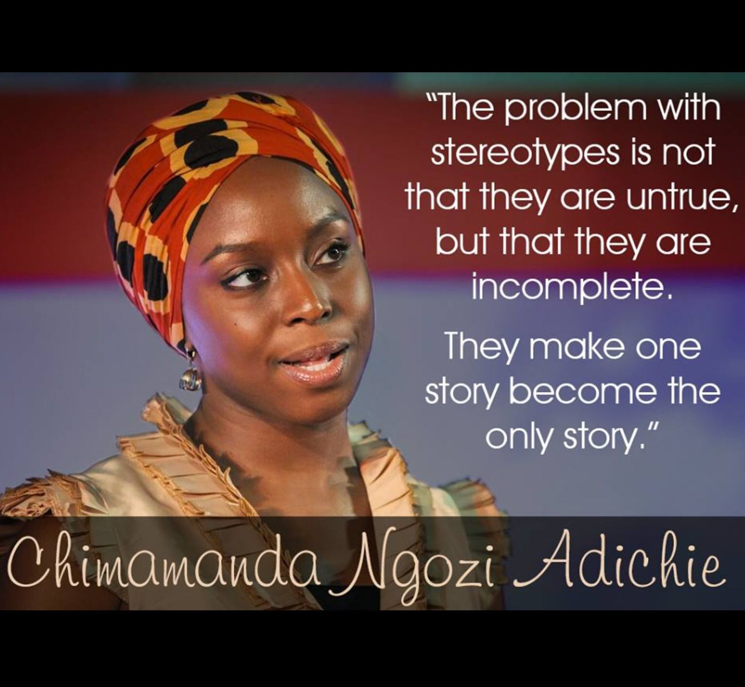 The Problem With Stereotypes Is Not That They Are Untrue,