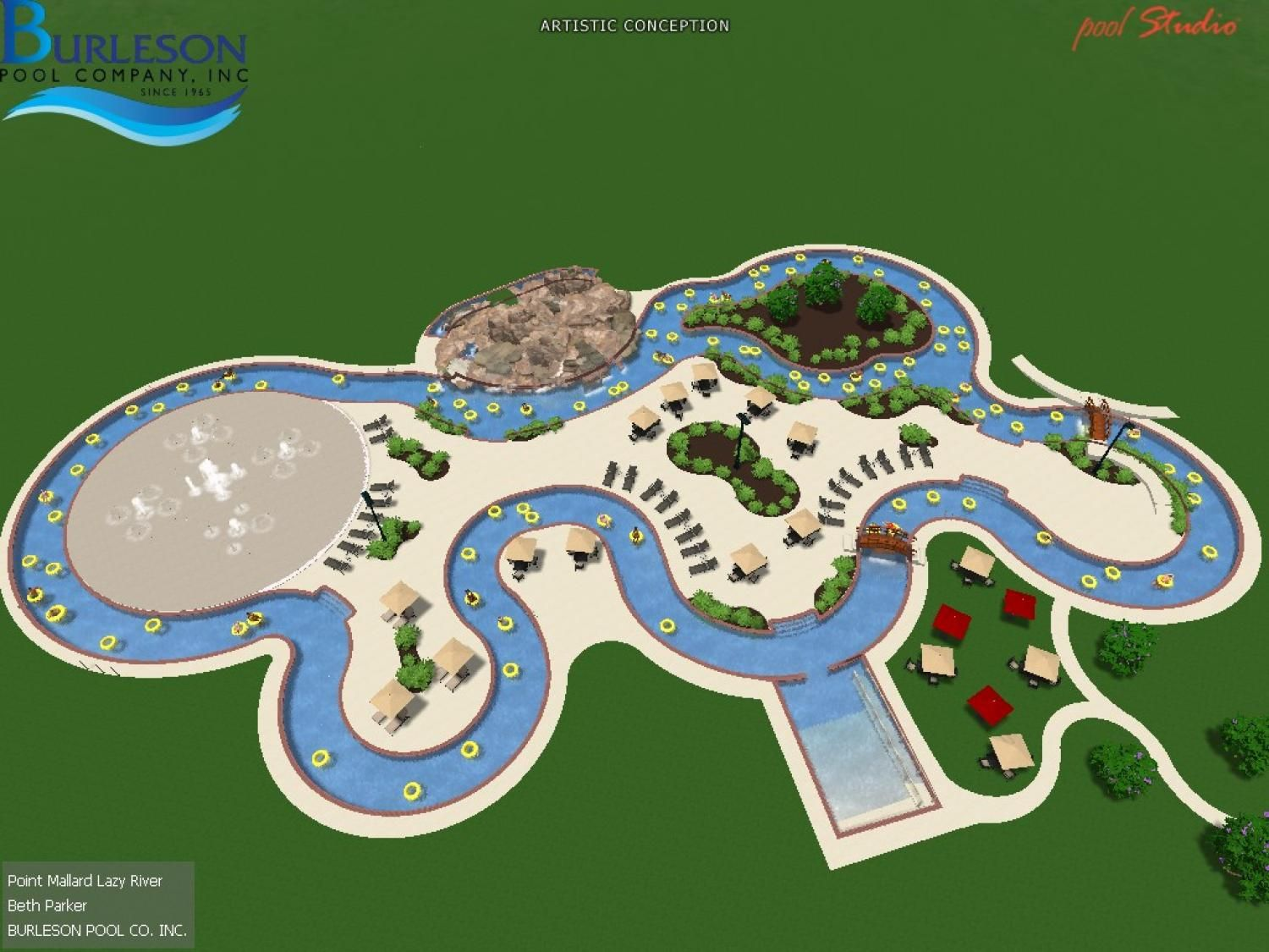 we love the new lazy river at the point mallard waterpark places