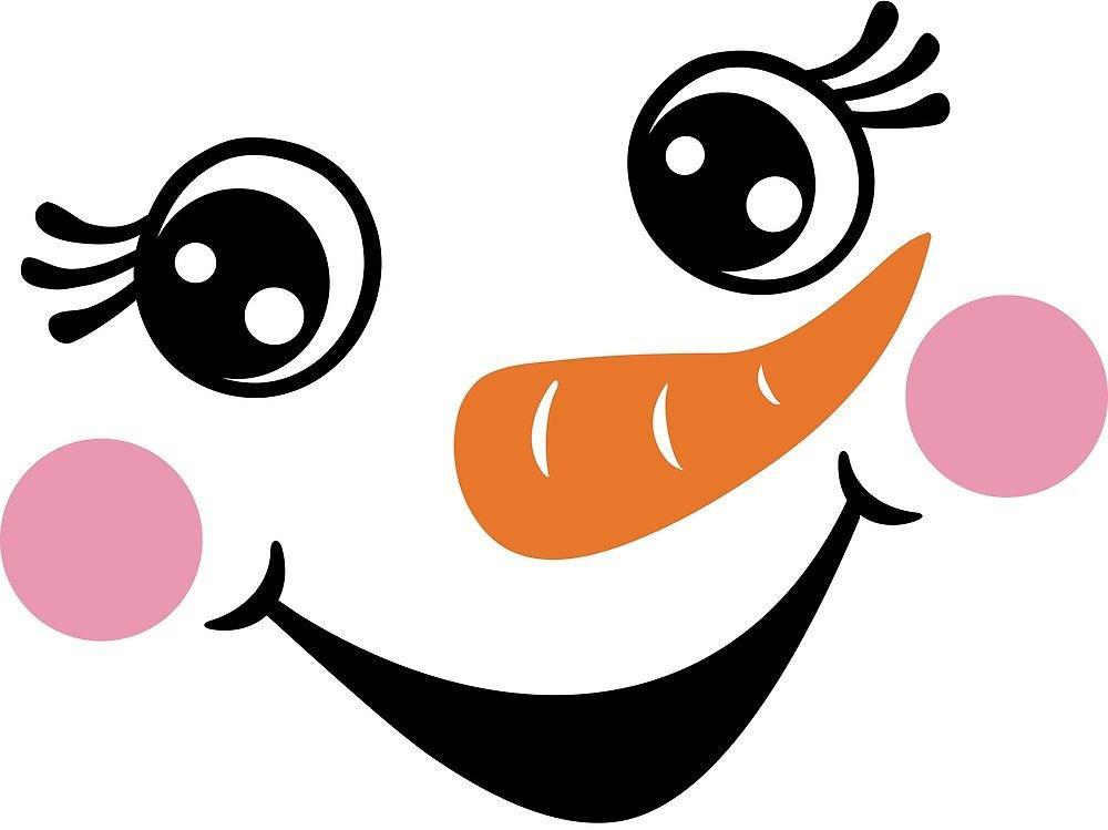 Картинка глазки для снеговика