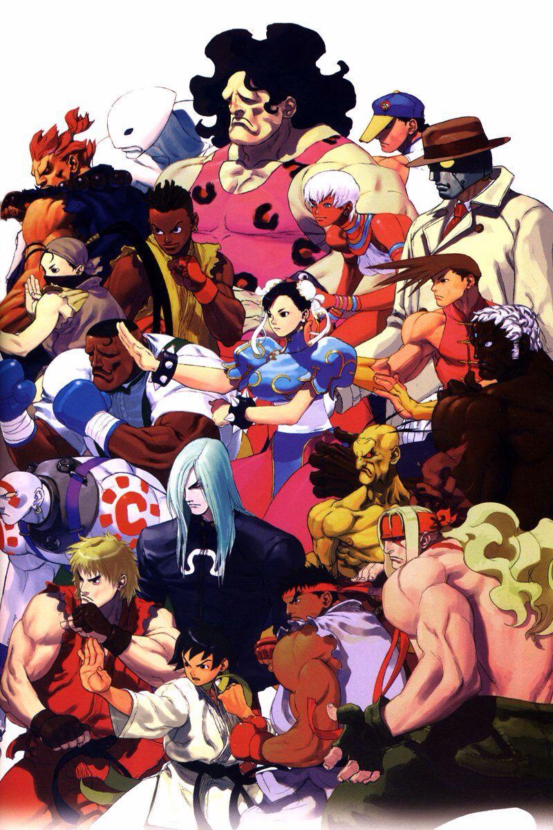 Street Fighter 3rd Strike Street Fighter Iii Street