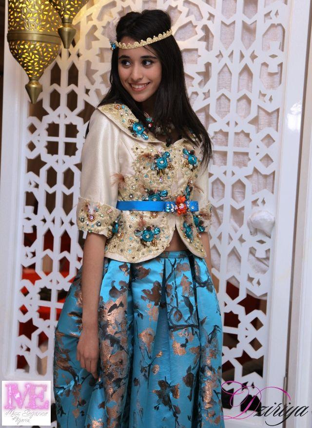 Abdi Zouina est Miss Elegance Algeria 2016 tenue