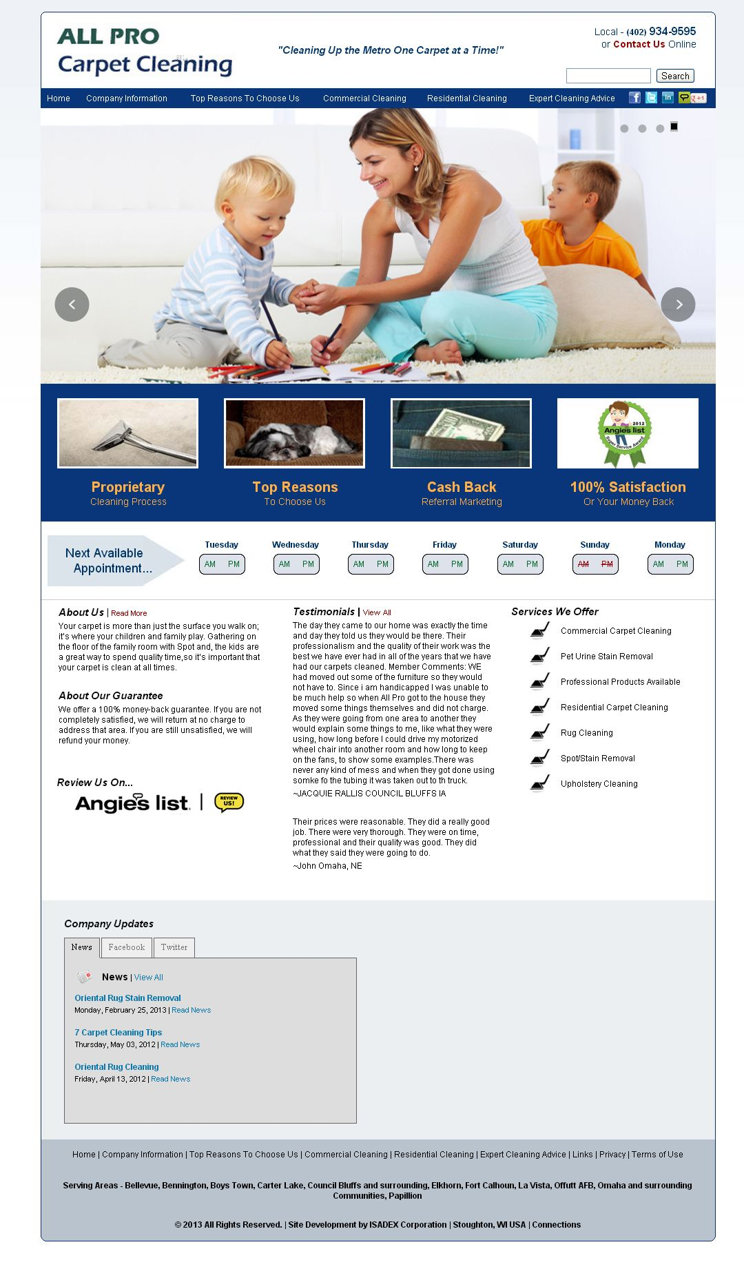All Pro Carpet Cleaning Cleaning Websites Clean