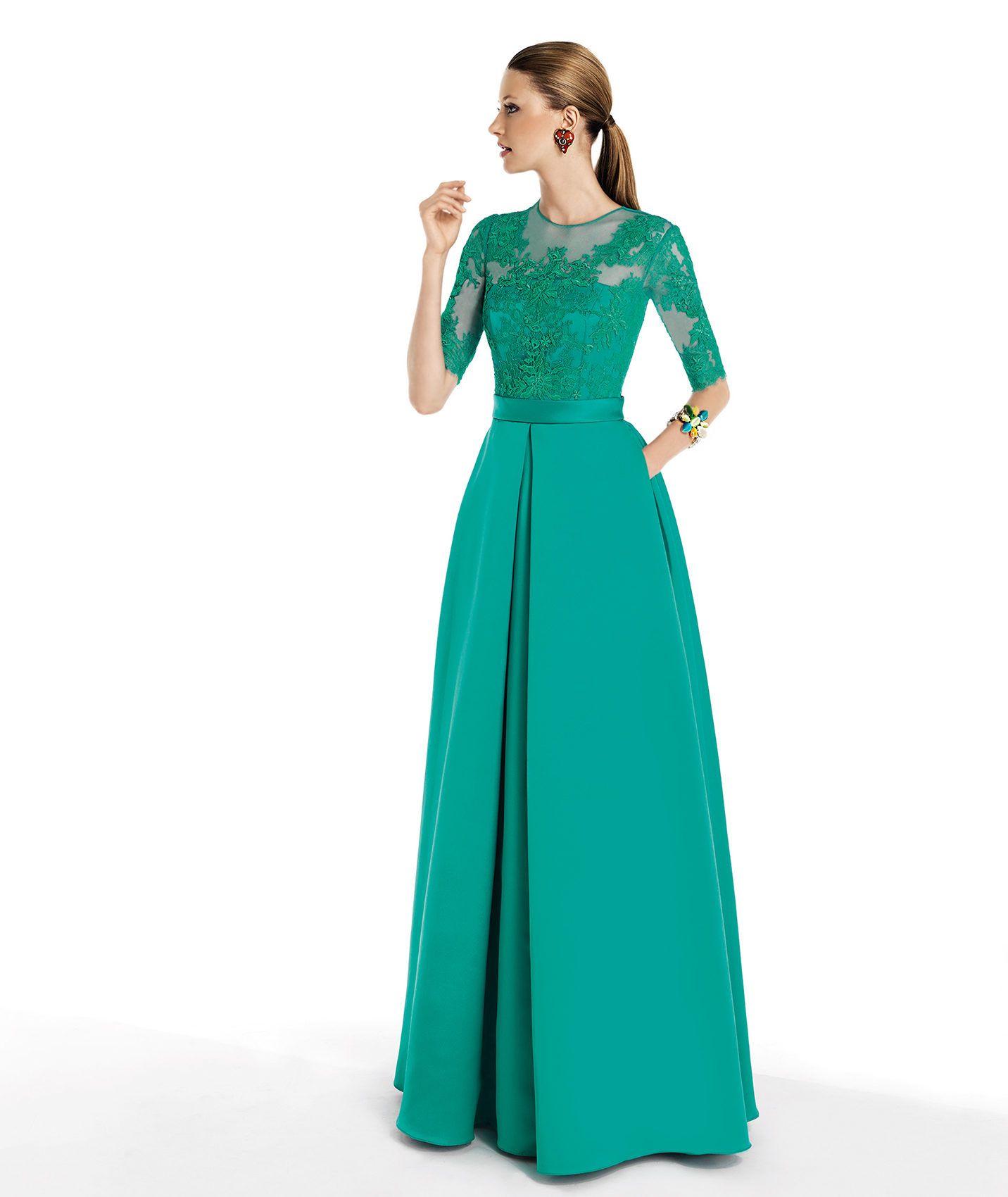 Pronovias te presenta su vestido de fiesta Taull de la colección ...