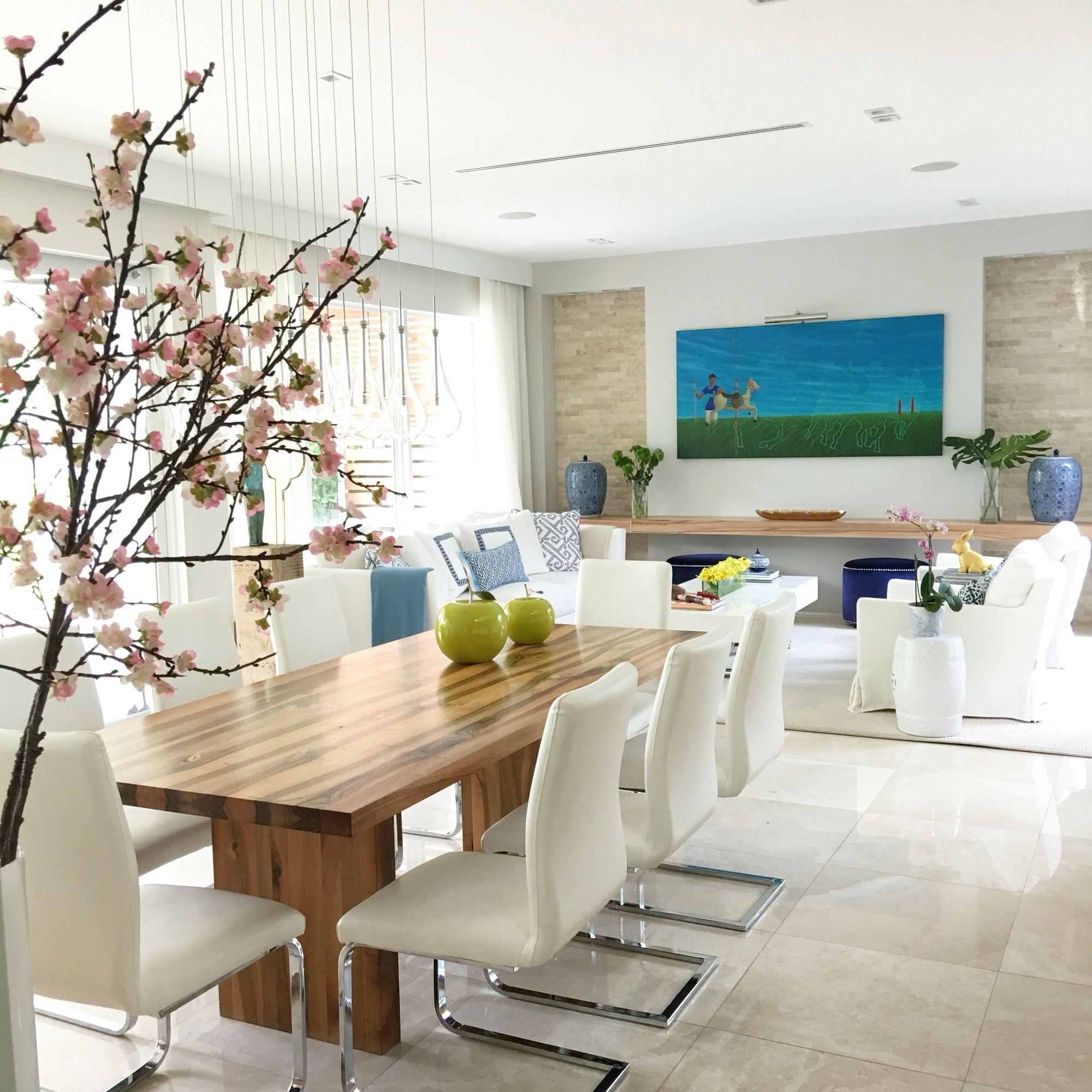 Beach House Elegance designed by Interiors by Maite Granda www ...