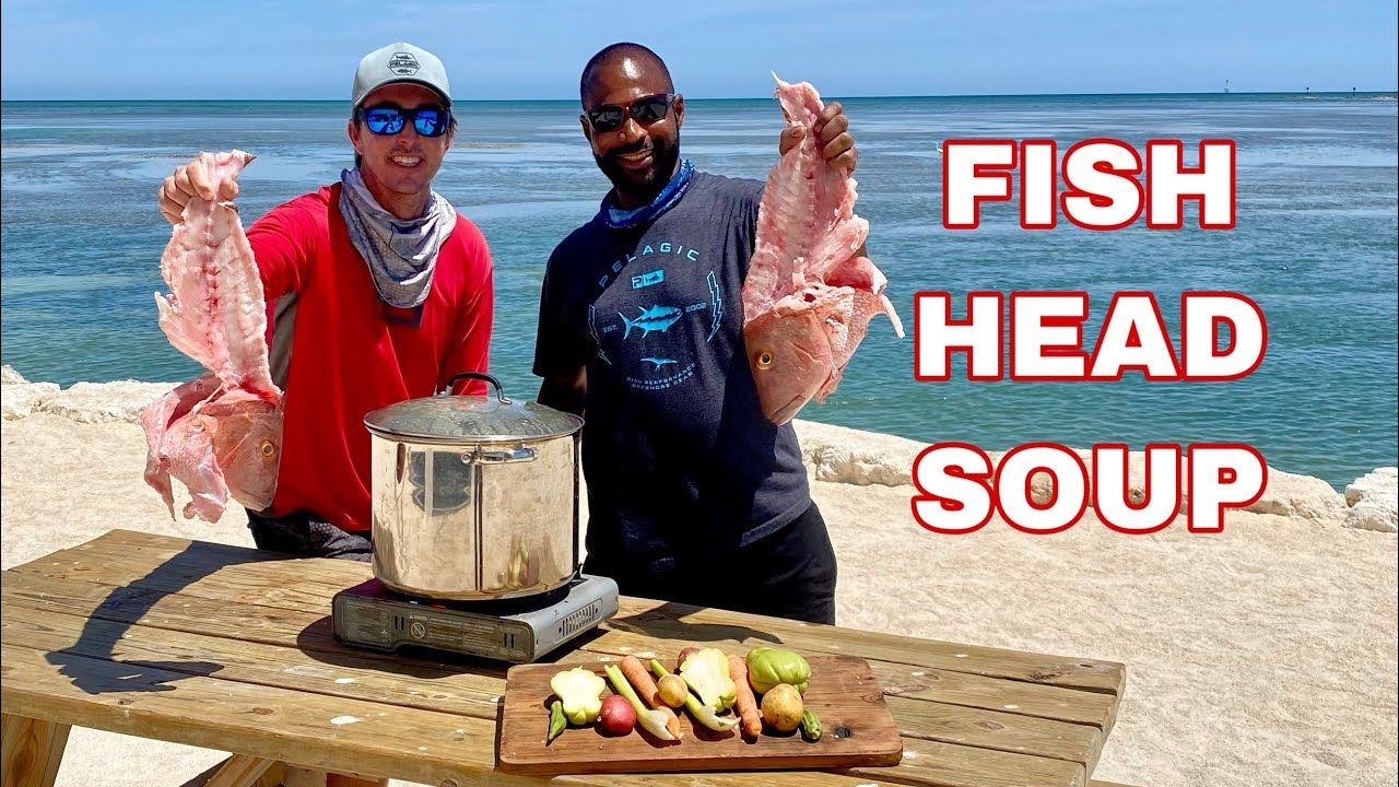 fish head soup jamaican style  youtube in 2020  fish