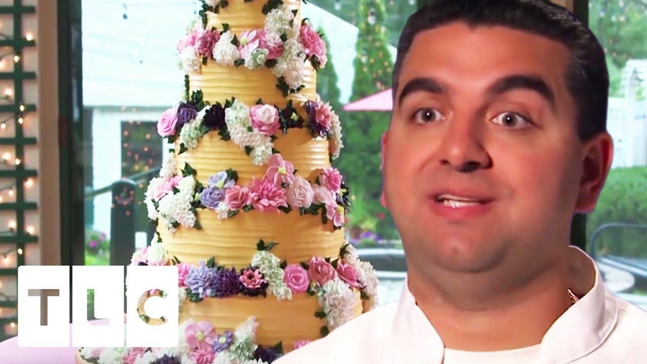 Buddys biggest and best wedding cakes cake boss