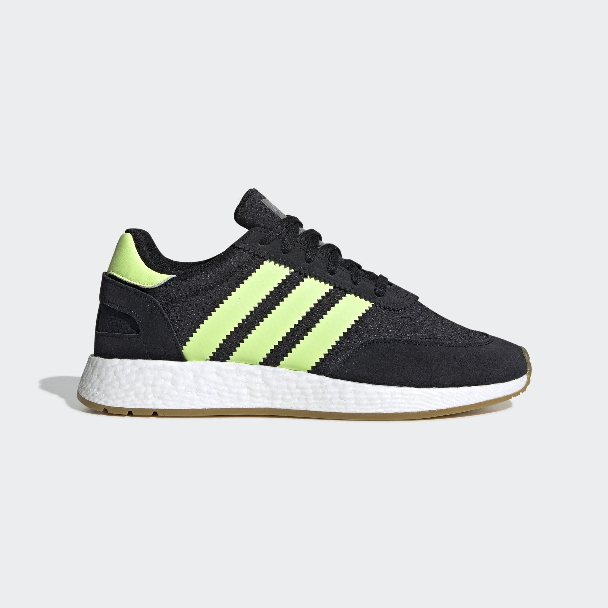 Adidas I 5923 Shoes Core Black Hi Res Yellow Gum