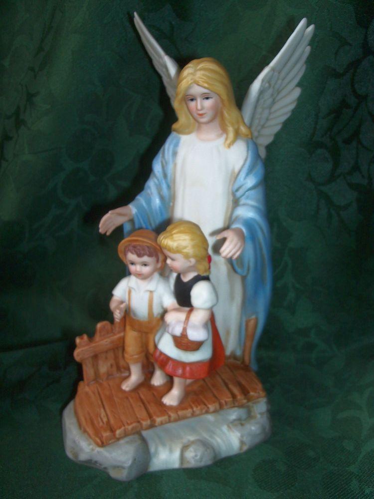 Guardian Angel 1995 Home Interiors Homco Figurine New