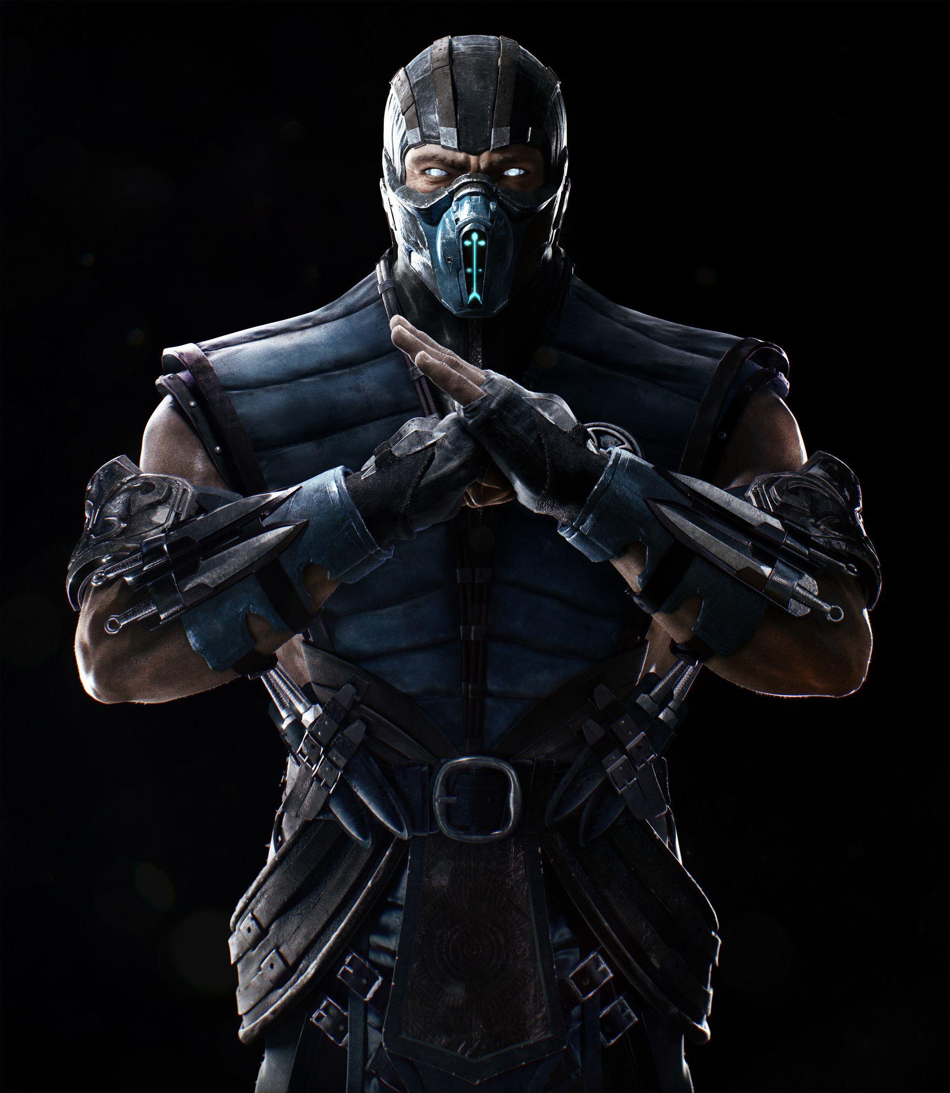 Artstation Mortal Kombat Xl Sub Zero Petur Arnorsson Sub