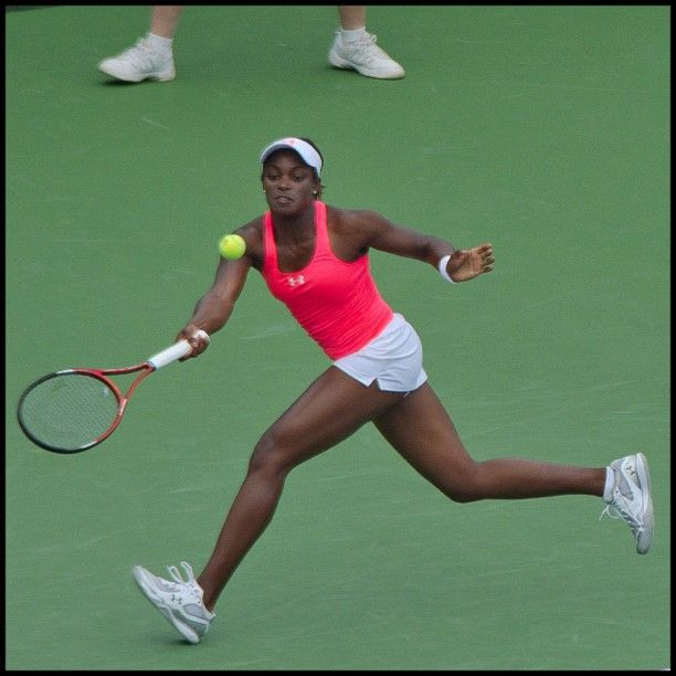"""@cyclazzi's photo: """"The future of U.S. Tennis. This is Sloane Stephens. @slaonetweets Best of luck on your match against Bartoli! #newhaven #newhavenopen  #nho12  #tennis"""""""