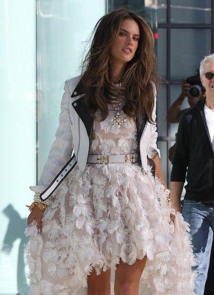 Alessandra Ambrosio - Alessandra Ambrosio On Set Of A Chanel Photo Shoot